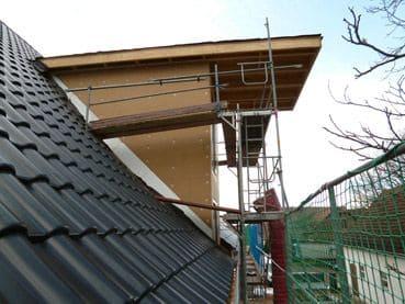 Dachsanierung und Neubau